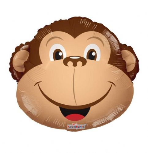 "14"" Monkey Balloon - Uninflated - Requires Heat Seal"